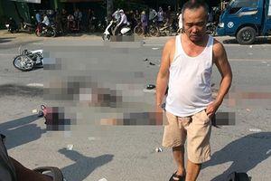 Hai xe máy tông nhau, văng xa hàng chục mét, 3 người chết