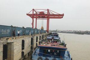 Tuyến vận tải thủy container Việt Trì - Hải Phòng đắt hàng