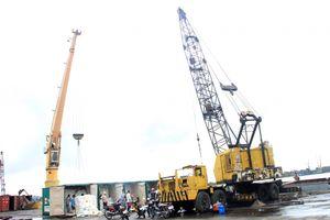 Cảng An Giang đưa công nghệ vào khai thác hàng container