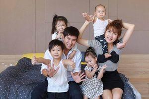 Lý Hải nói gì về tin đồn 'bóc lột' vợ, ép Minh Hà sinh nhiều con?