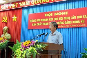 An Giang triển khai thực hiện Nghị quyết hội nghị Trung ương 6 khóa XII