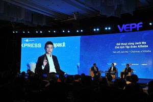 Tỉ phú Jack Ma: 'Đừng để doanh nghiệp khởi nghiệp phải lên xuống, xin cho'