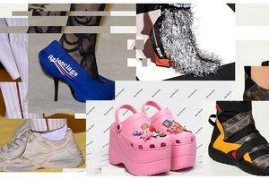 Nếu chê những đôi giày này bẩn và quá xấu, thì bạn thật có lỗi với thời trang!