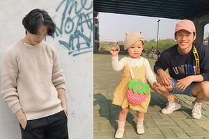 Ông bố quốc dân Hàn Quốc đẹp trai như thần tượng khiến fan nữ 'tiếc hùi hụi'