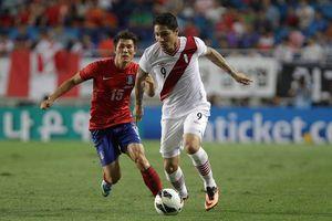 Play-off World Cup 2018: Peru sẵn sàng với thách thức từ New Zealand