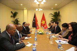 Phó Thủ tướng Phạm Bình Minh tiếp xúc song phương tại Tuần lễ Cấp cao APEC