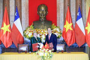 Tăng cường quan hệ hợp tác toàn diện Việt Nam – Chile