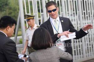 Mật vụ dày đặc trước giờ đón Tổng thống Trump tại sân bay Hà Nội