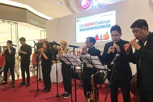 LG trình diễn màn hòa nhạc bằng... rau củ quả tại Việt Nam