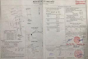 UBND phường 'bó tay' vì công trình xây dựng có phép…lấn đất?