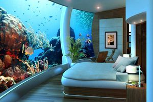 Ngủ cùng cá trong những khách sạn dưới nước hàng đầu thế giới