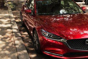Xe sedan Mazda6 2018 lộ ảnh nóng trước ngày ra mắt