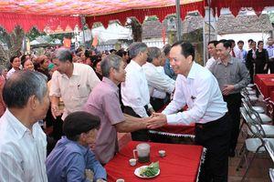 Bí thư Tỉnh ủy Thanh Hóa dự Ngày hội Đại đoàn kết tại huyện Thiệu Hóa