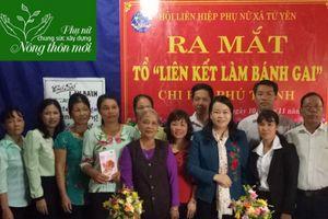 Tổ liên kết sản xuất bánh gai giúp phụ nữ phát triển kinh tế