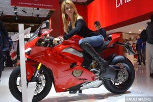 Khám phá 'Chiếc xe đẹp nhất' tại EICMA - Ducati Panigale V4 2018