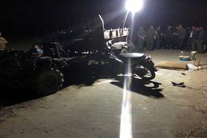 Va chạm với xe đầu dọc, 1 người đàn ông tử vong