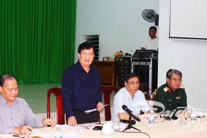 Phó Thủ tướng Trịnh Đình Dũng kiểm tra công tác ứng phó bão số 14