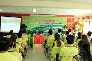Nhựa Rạng Đông – Long An bắt tay hợp tác với Cty CP Công Nghệ Citek
