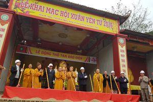 Xây dựng Khu danh thắng Yên Tử xứng tầm Kinh đô Phật giáo