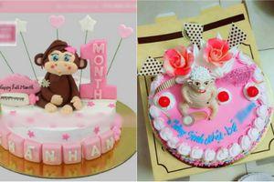 Đặt bánh sinh nhật hình khỉ, mẹ trẻ cay đắng khi nhận hàng