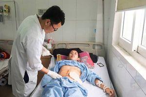 Nghệ An: Cứu sống bệnh nhân người Lào bị 9 viên đạn găm vào người