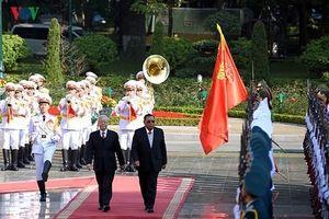Việt Nam luôn ủng hộ mạnh mẽ Lào trong bất cứ hoàn cảnh nào