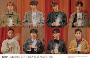 EXO siêu đẹp trai và ấm áp trong loạt ảnh Album mùa đông