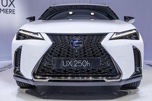 Chi tiết Lexus UX 2019 mới 'đối thủ' Mercedes GLA