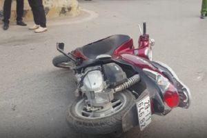 Tai nạn liên hoàn ô tô và 2 xe máy