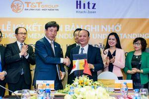 Bầu Hiển 'bắt tay' đối tác Nhật phát triển dự án điện từ chất thải