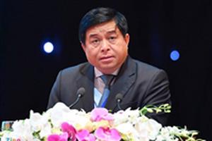 Bộ trưởng Nguyễn Chí Dũng phát biểu tại Hội nghị Thượng đỉnh Doanh nghiệp GMS