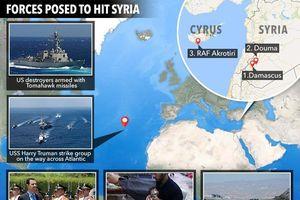 Syria trước nguy cơ cuộc chiến tranh vũ lực của Mỹ và phương Tây