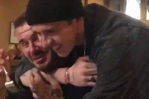 David Beckham bất ngờ vì được con trai Brooklyn tổ chức sinh nhật
