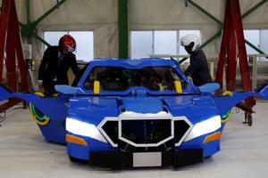 Robot - Ô tô biến hình kinh ngạc như phim 'Transformers'