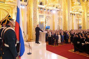 Ông Putin tuyên thệ nhậm chức Tổng thống Nga