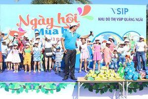 Sôi nổi 'Ngày hội mùa Hè' tại công viên VSIP Quảng Ngãi