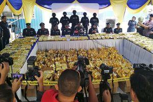 Cận cảnh 1,2 tấn ma túy đá giấu trong các túi trà bị thu giữ