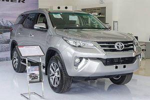 Loạt xe ôtô Toyota nhập khẩu chuẩn bị bán ra tại Việt Nam