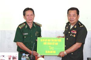 BĐBP Bình Phước trao đổi tình hình với các đơn vị bảo vệ biên giới Campuchia