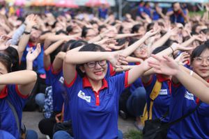 Hơn 20.000 sinh viên tham gia 'Tiếp sức mùa thi 2018'