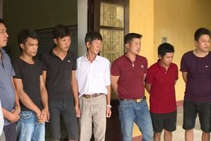Thái Bình: Bắt 8 đối tượng đánh bạc bằng hình thức cá độ bóng đá