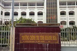 Kiểm tra phản ánh việc thực hiện Dự án BT Trường Chính trị tỉnh Khánh Hòa