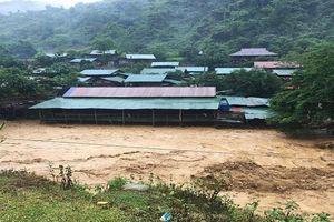Cảnh hoang tàn sau lũ lụt tại các tỉnh miền núi phía Bắc