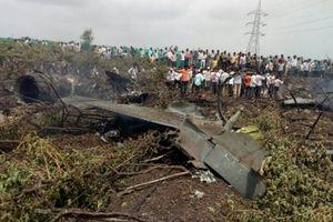 Su-30MKI Ấn Độ lại rơi khi bay thử nghiệm, phi công thoát nạn