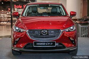 Mazda CX-3 2018 bản nâng cấp ra mắt tại Malaysia giá từ 689 triệu