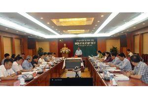Thông cáo báo chí kỳ họp thứ 27 của Ủy ban Kiểm tra Trung ương