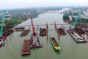 Dự án chống ngập ở Sài Gòn lùi ngày hoàn thành qua cuối năm 2019
