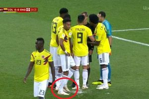 Hậu vệ Colombia chơi tiểu xảo phá penalty của Harry Kane