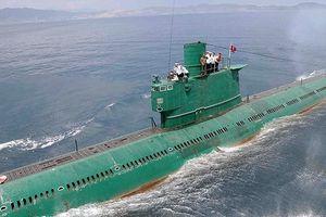 Triều Tiên bí mật phát triển tàu ngầm mang tên lửa đạn đạo mới?