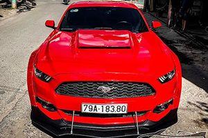 Dân chơi Nha Trang độ Ford Mustang tiền tỷ thành 'hàng độc'